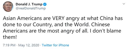 吴彦祖发文怼特朗普说了什么?吴彦祖发文怼特朗普你不能代表我们说话