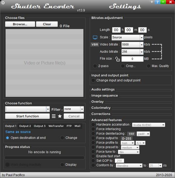 Shutter Encoder(免费视频转换器)下载