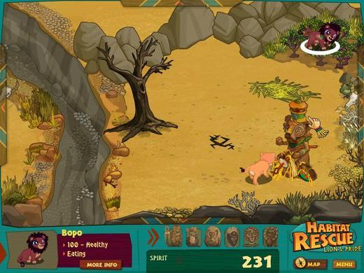 生态救援之狮子的骄傲(Habitat Rescue Lion's Pride)下载