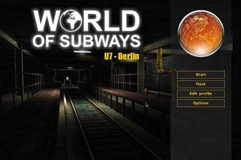 世界地铁第二辑.U7.柏林(World of Subways Vol.2: U7 - Berlin)