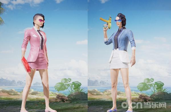 《和平精英》夏季度假着装指南新鲜出炉 变身特工巴纳纳在爱心岛跳舞