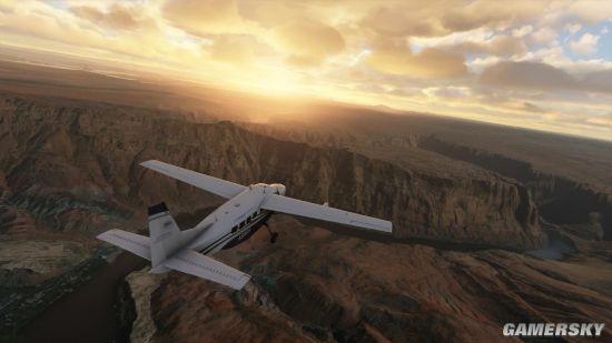 《微软飞行模拟》两段新演示 极致美景令人沉醉