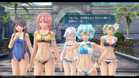 《创之轨迹》人物新截图 还有沙滩假日迷你游戏