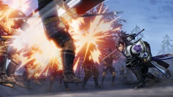《战国无双5》实机截图 织田信长化身肌肉狂战士