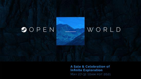 Steam开放世界特卖官宣:5月28日~6月1日举行