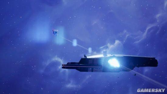 《家园3》时隔两年预告仅28秒 轨道炮护卫舰威力惊人