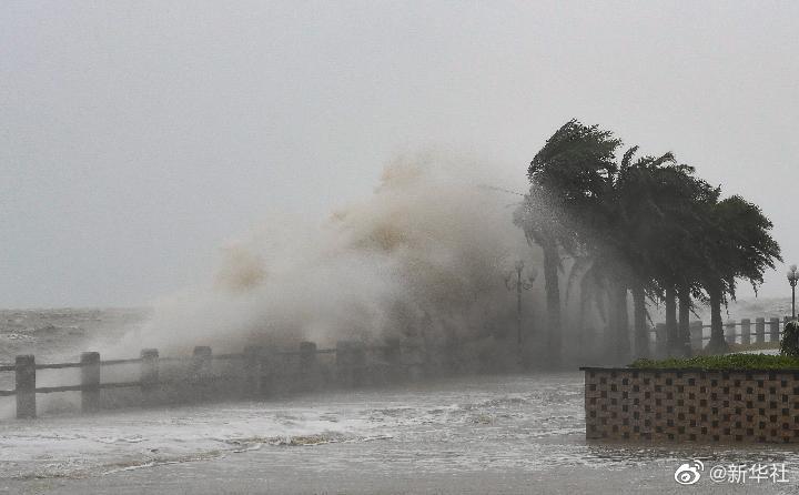 直播:台风圆规登陆海南琼海 圆规是近5年登陆海南最强台风