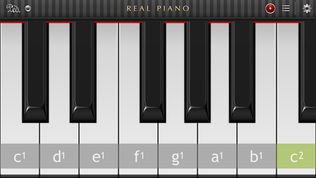 Real Piano HD软件截图0