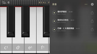 Real Piano HD软件截图1