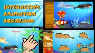 QCat - 幼儿的海洋世界互动拼图游戏 (免费)软件截图1