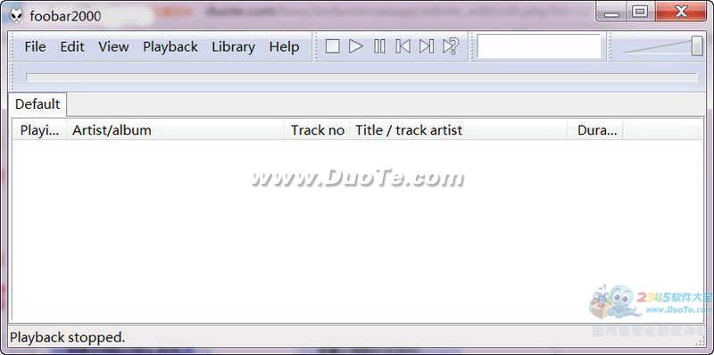 Foobar2000(无损音乐播放器)下载
