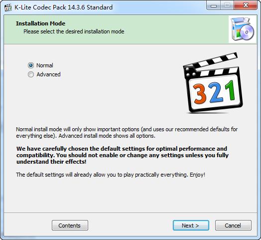 K-Lite Codec Pack Standard下载