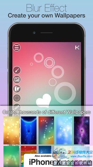 Blur Wallpapers(模糊壁纸)软件截图0