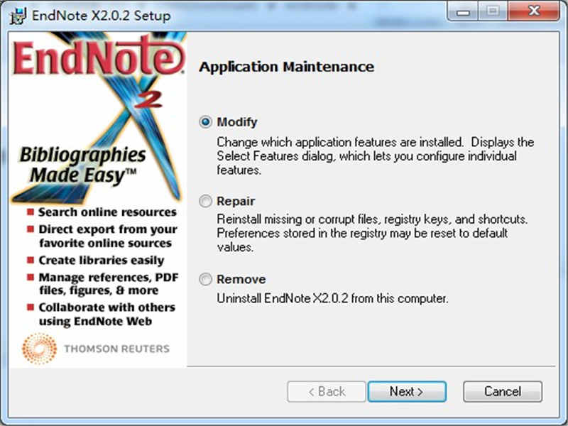 Endnote(参考文献管理软件)下载