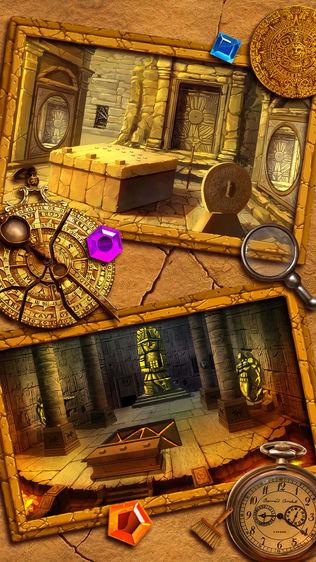 古墓逃脱:神秘宫殿逃亡探险游戏软件截图2