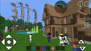 像素世界3D : 中文迷你版沙盒游戏软件截图0