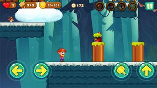 超级大冒险:丛林跑酷游戏软件截图1