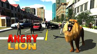 愤怒的狮子攻击3D