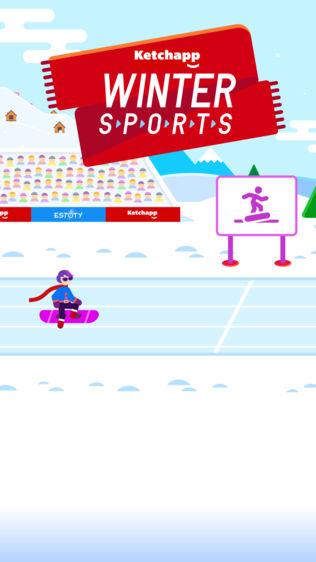 Ketchapp冬运软件截图0
