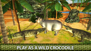 愤怒的鳄鱼3D模拟器软件截图2