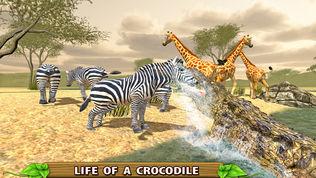 愤怒的鳄鱼模拟器软件截图1