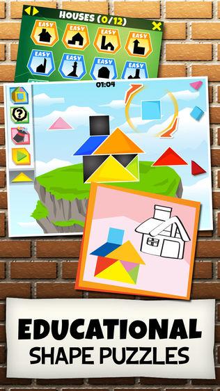 儿童七巧板益智拼图软件截图0