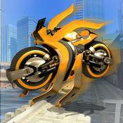 快 飞行 机器人 摩托�