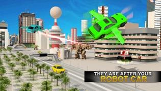 真实 机器人 战斗 VS 飞行 汽车 游戏软件截图0