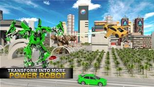 真实 机器人 战斗 VS 飞行 汽车 游戏软件截图2