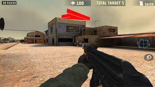 Army Destroy Robber Over Villa软件截图1