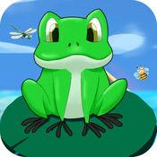 青蛙跳一跳旅行小游戏中文汉化版