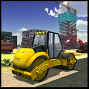 道路建筑及挖掘机模拟
