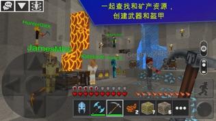 Planet of Cubes 生存游戏软件截图2