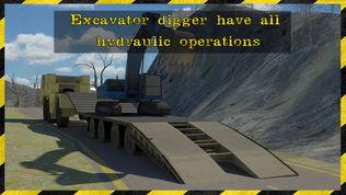 挖掘机转运救援3D simulator软件截图2