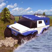 越野蜈蚣卡车驾驶模拟器