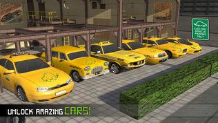 电动汽车出租车司机3D模拟器软件截图1