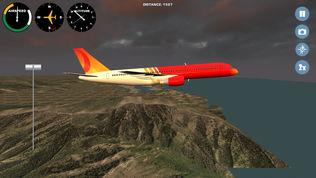 模拟飞机飞越全球软件截图0