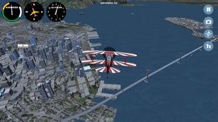 模拟飞机飞越全球软件截图1