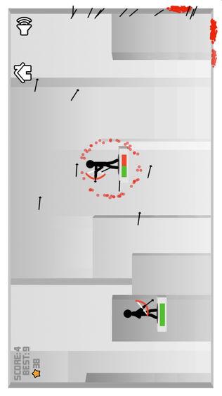 火柴人弓箭手射击大战软件截图1