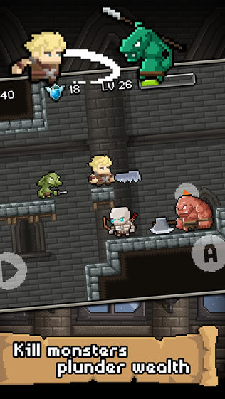 地牢冲突 Don't die in dungeons软件截图0