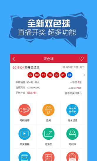 旺彩双色球软件截图2
