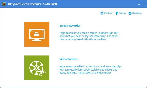UkeySoft Screen Recorder(屏幕录制工具)下载