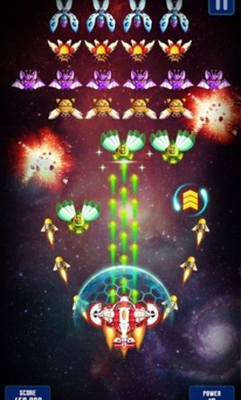 银河之战深空射手无限钻石版软件截图0