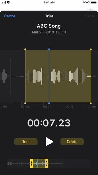 语音备忘录软件截图0