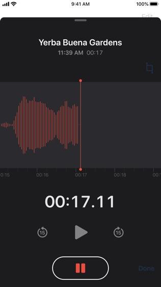 语音备忘录软件截图2