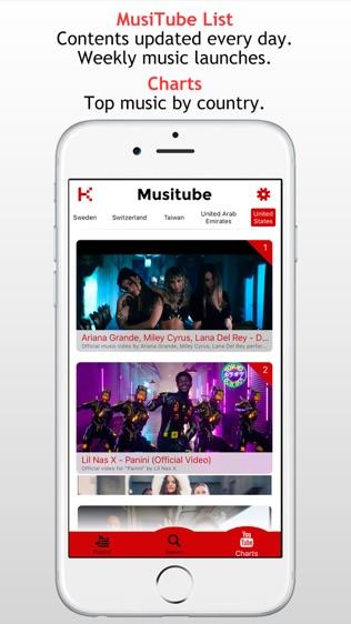 MusiTube for YouTube软件截图2