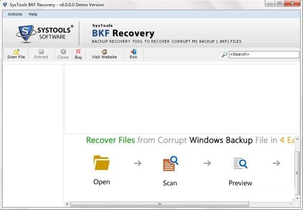 SysTools BKF Repair(BKF修复工具)下载