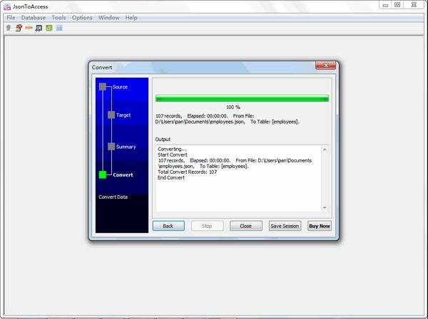JsonToAccess(Json转Access工具)下载
