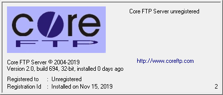 Core FTP Server(FTP服务器)下载