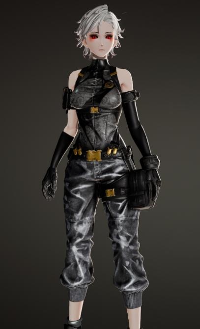 噬血代码艾米丽的军服MOD下载